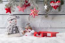 Christmas Still Life Decoratio...