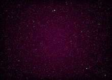 Glittering Purple Starry Cosmi...