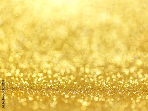 Gold Festive Christmas background. - 94151593