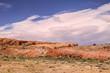 Fantastische Fels und Wolkenformationen im amerikanischen Western