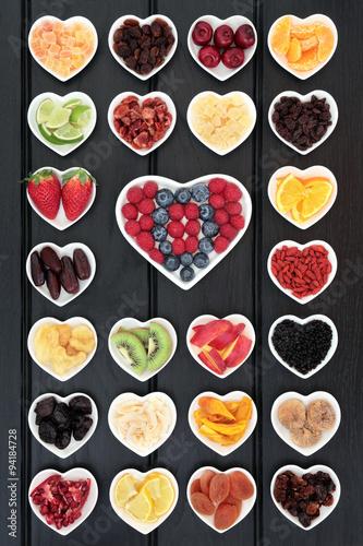 Foto op Aluminium Assortiment Healthy Fruit Selection