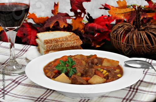 Fotografie, Obraz  Homemade beef stew