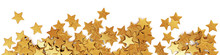 Scattered Gold Confetti Stars ...