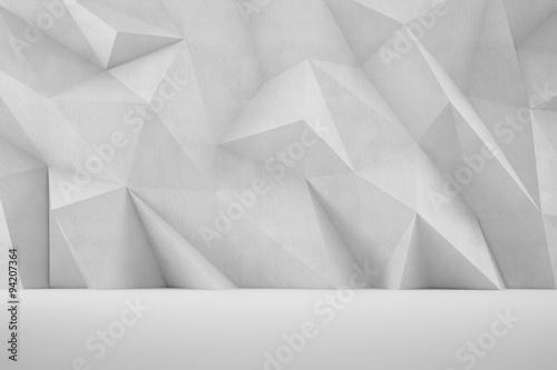 Abstrakter 3D Hintergrund als Wand #94207364