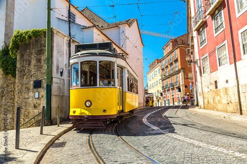 Cuadros en Lienzo Tranvía de Lisboa