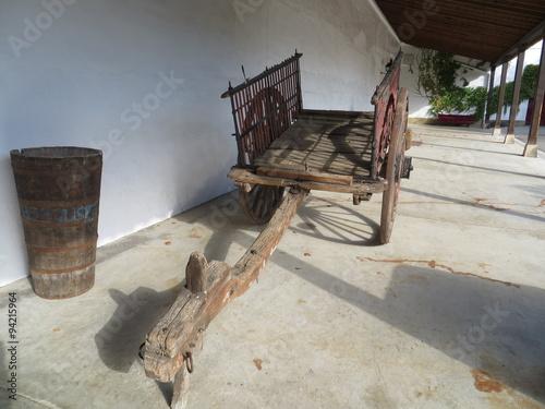 Fotobehang Indiërs old cart