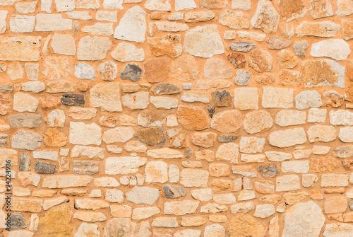 fototapeta na lodówkę Alte Steinmauer Rustikal Hintergrund Textur