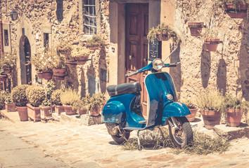 Fototapeta Scooter in Tuscany