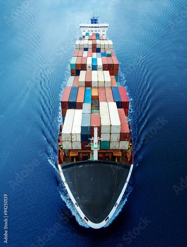 Containerschiff Canvas-taulu