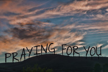 Praying For You. The Words Sil...