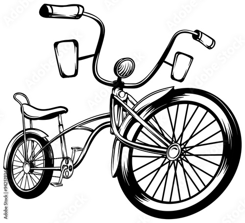 Lowrider Bike - Buy this stock vector and explore similar vectors at ...