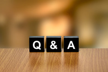 Q&A Or Questions And Answers O...