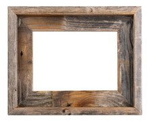 Empty Old Barn Wood Frame
