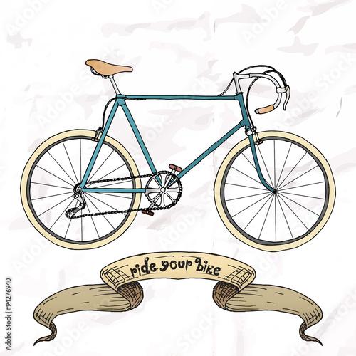 In de dag Fiets Ride your bike picture.