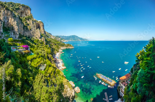 Cuadros en Lienzo Amalfi Coast, Campania, Italy