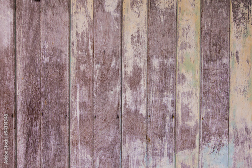Foto op Plexiglas Wand Vintage old shabby wooden painted with cracked color Background.