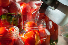 Canning Process Of Tomato In M...