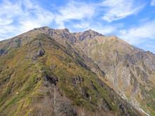 西黒尾根からの谷川岳