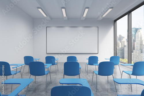 Fotografie, Obraz  A classroom or presentation room in a modern university or fancy office