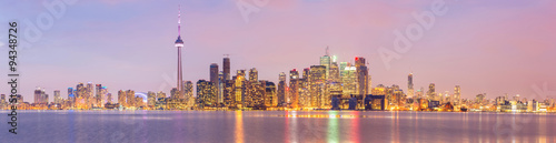 Photo  Toronto Skyline panorama
