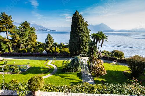 Jardins à Isola Bella Slika na platnu