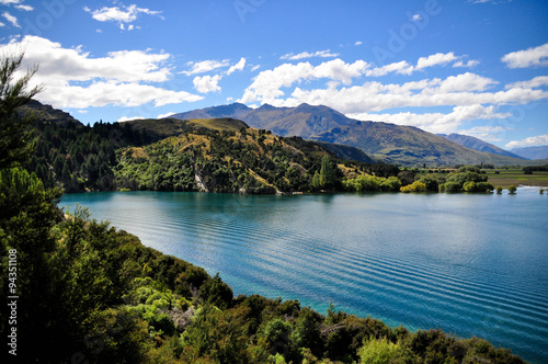 Fotografie, Tablou  New Zealand Wakatipu Lake