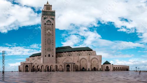 Tableau sur Toile Hassan II Mosque in Casablanca