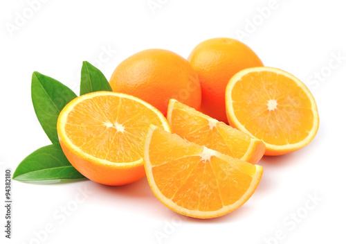Spoed Foto op Canvas Plakjes fruit Sweet orange fruit