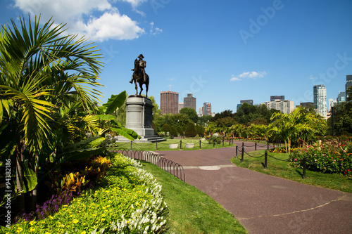 Fotografija  George Washington Statue in Boston Public Garden, Boston