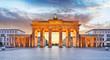 Berlin - Brandenburg Gate at night