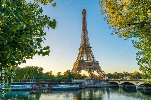 Poster Paris Paris Eiffelturm Eiffeltower Tour Eiffel