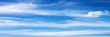 canvas print picture - Panorama - Himmel