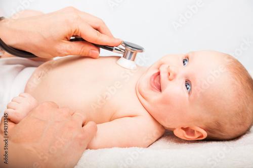 Fotografia  Baby lungs checkup