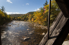 View From Albany Covered Bridge