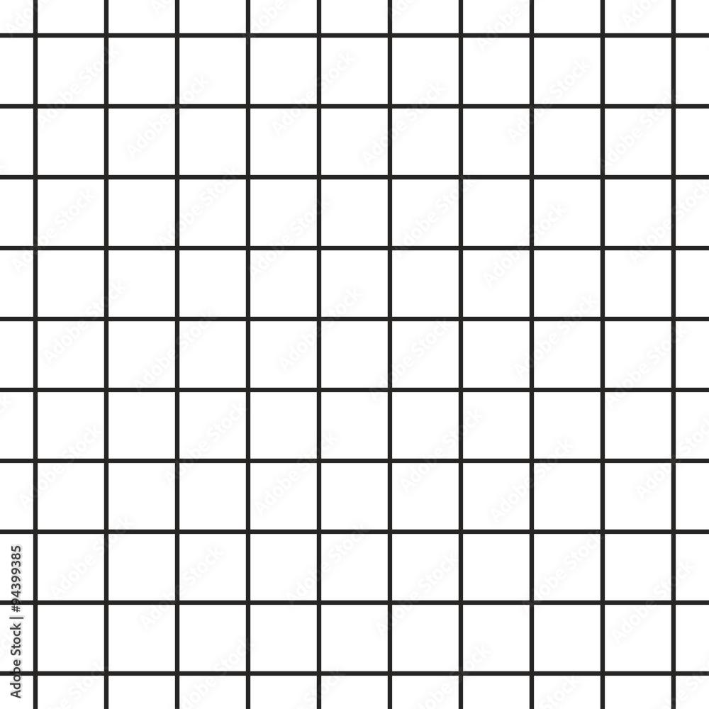 Fototapety, obrazy: Cell grid stripped geometric seamless pattern.