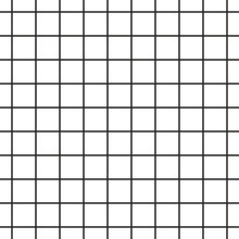 Cell Grid Stripped Geometric Seamless Pattern.