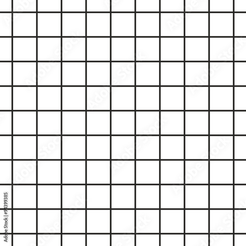 Cuadros en Lienzo  Cell grid stripped geometric seamless pattern.