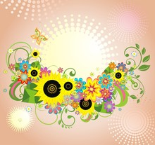 Greeting Autumnal Card