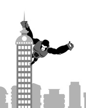 King Kong On Building. Strong ...