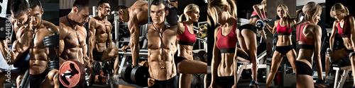 Photo sur Toile Fitness bodybuilding