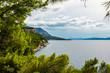 Landschaft Makarska, Dalmatien, Kroatien B