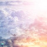 Piękne błękitne niebo - 94431990