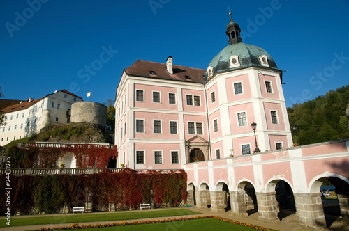 Photo  Castle Bečov nad Teplou in western Bohemia, Czech republic