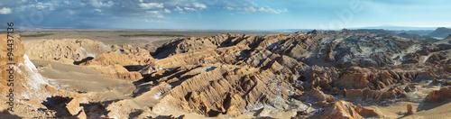 Poster de jardin Desert de sable Desert landscape of Valley of Mars