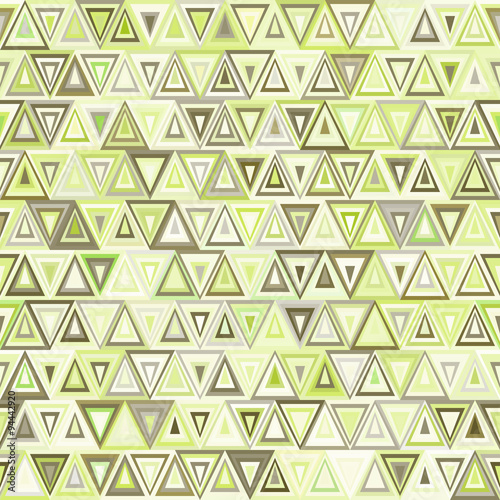 Naklejka dekoracyjna Seamless geometric pattern of triangles