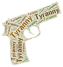 Tyranny Word Means Reign Of Te...