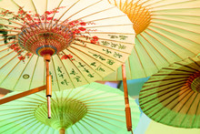 Chinese Umbrellas Photographed...