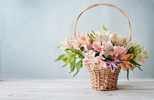 Bouquet Alstroemeria