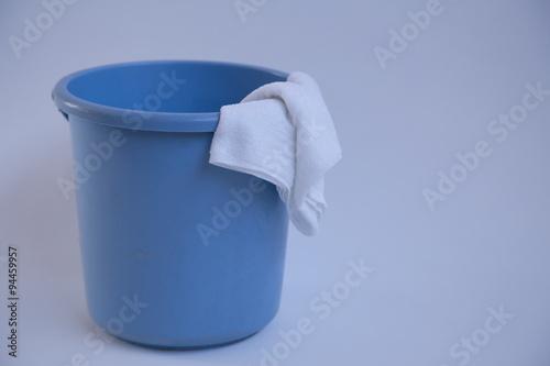 Valokuva  雑巾とバケツ