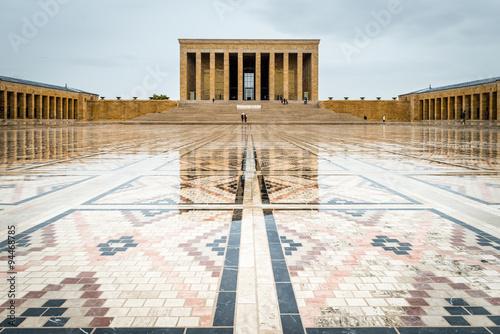 Photo Ankara, Turkey - Mausoleum of Ataturk